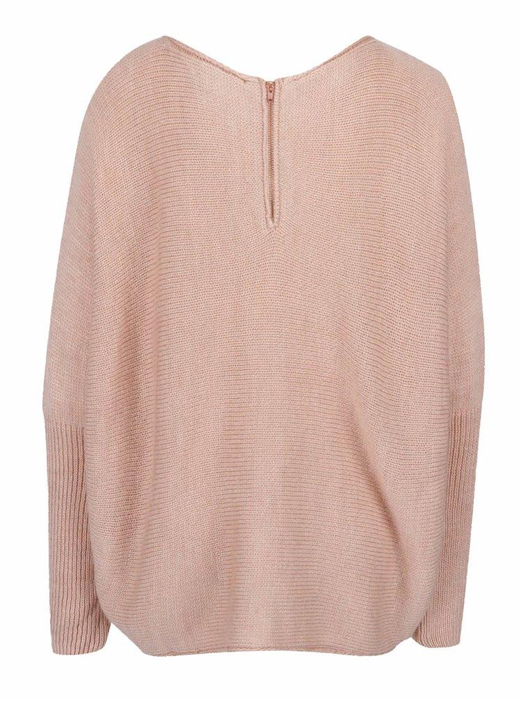Pulover roz pal VILA