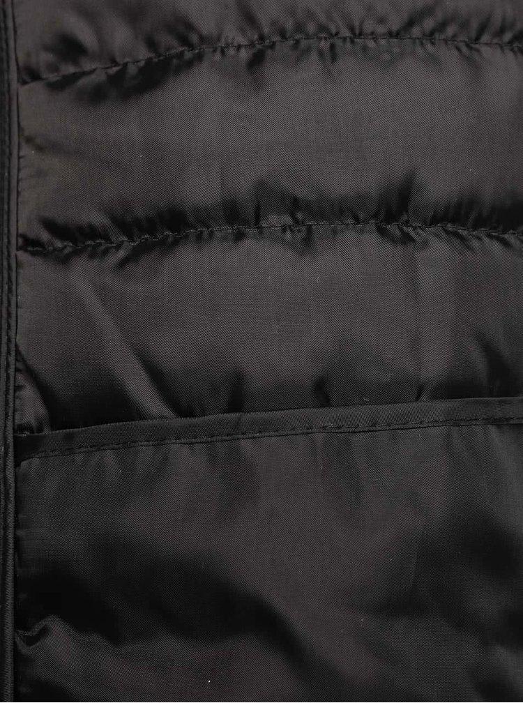 Geaca neagra Burton Menswear London matlasata