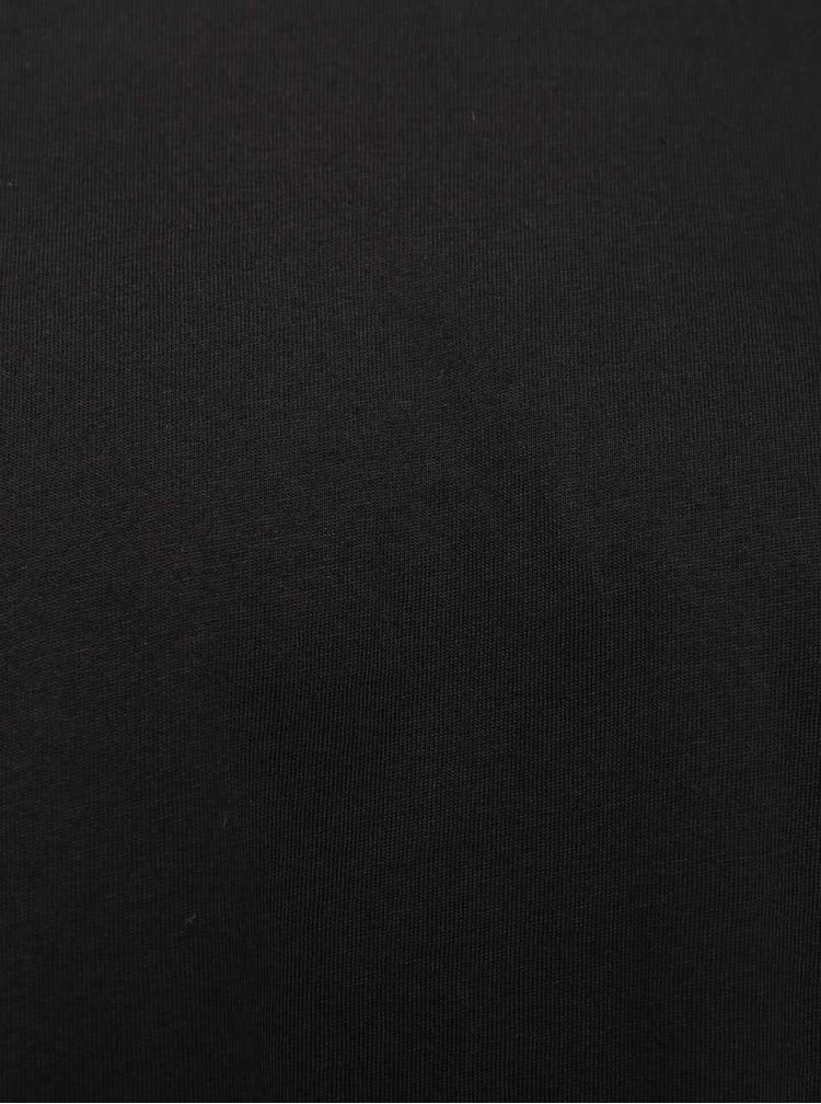 Černé basic triko Burton Menswear London