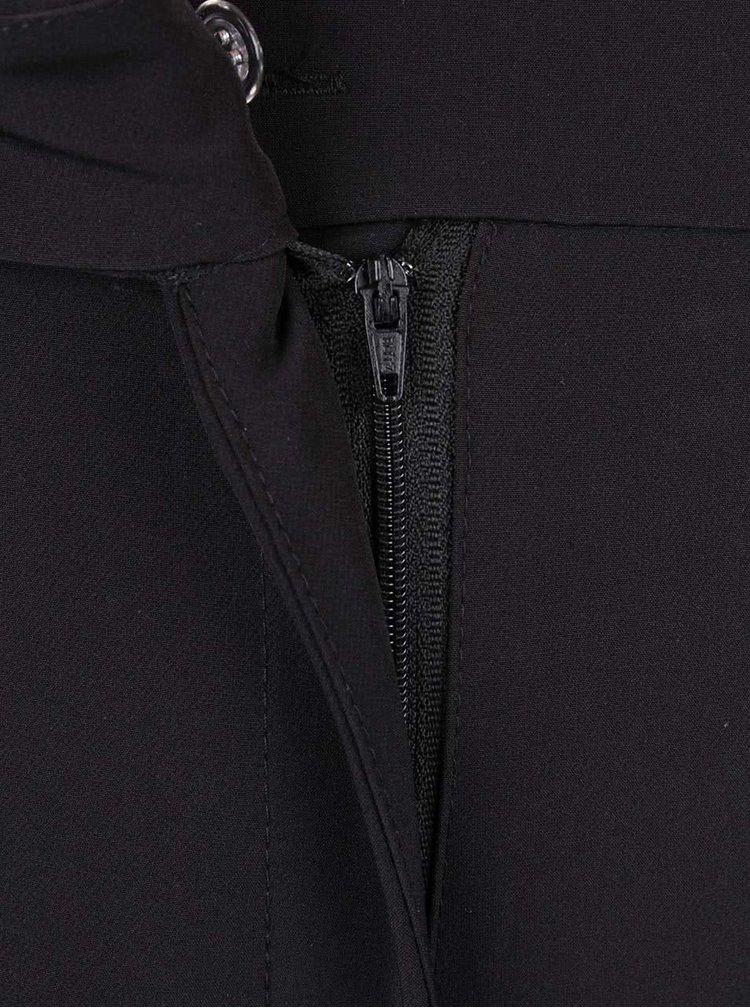 Černé culottes kalhoty Alchymi Anza