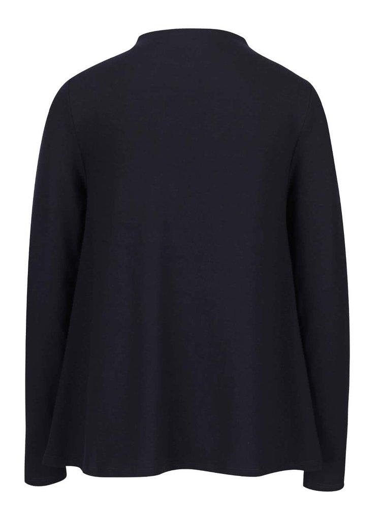 Tmavě modré volnější tričko s dlouhým rukávem ONLY Emmelie