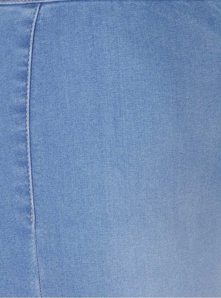 Blugi albastru deschis Miss Selfridge Steffi