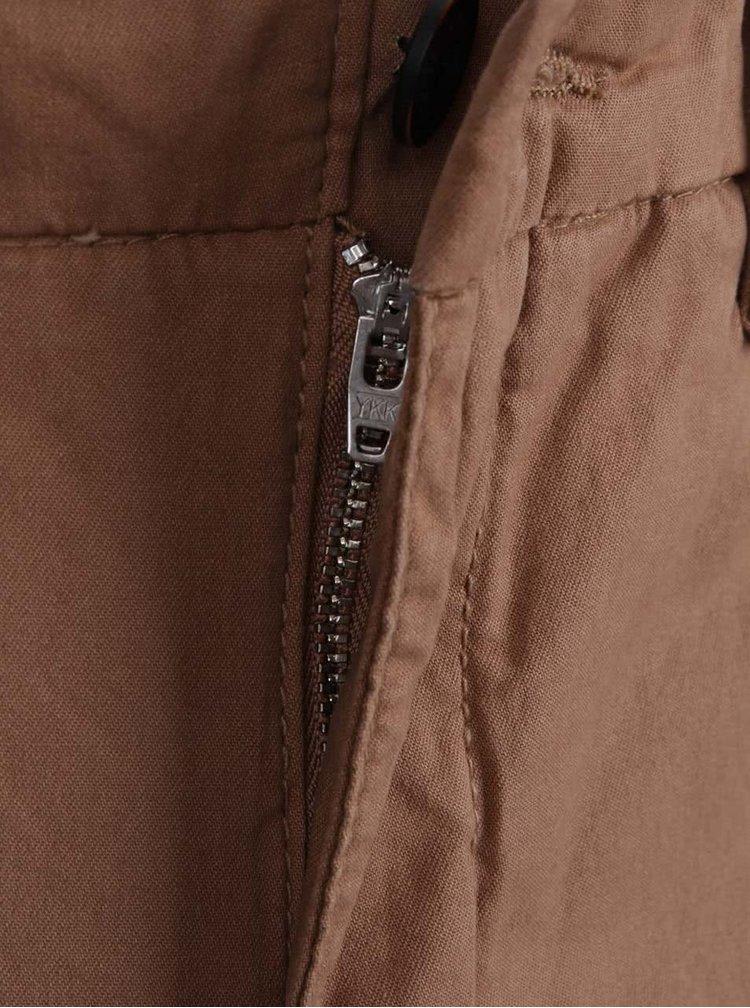 Pantaloni chino maro deschis Burton Menswear London