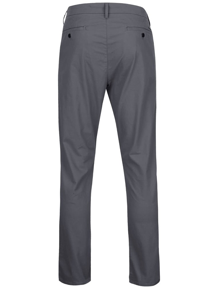 Pantaloni chino gri Burton Menswear London