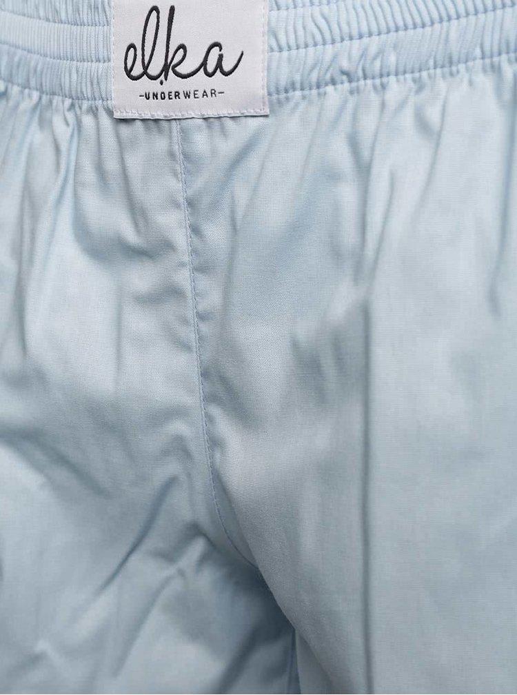 Světle modré dámské trenýrky El.Ka Underwear