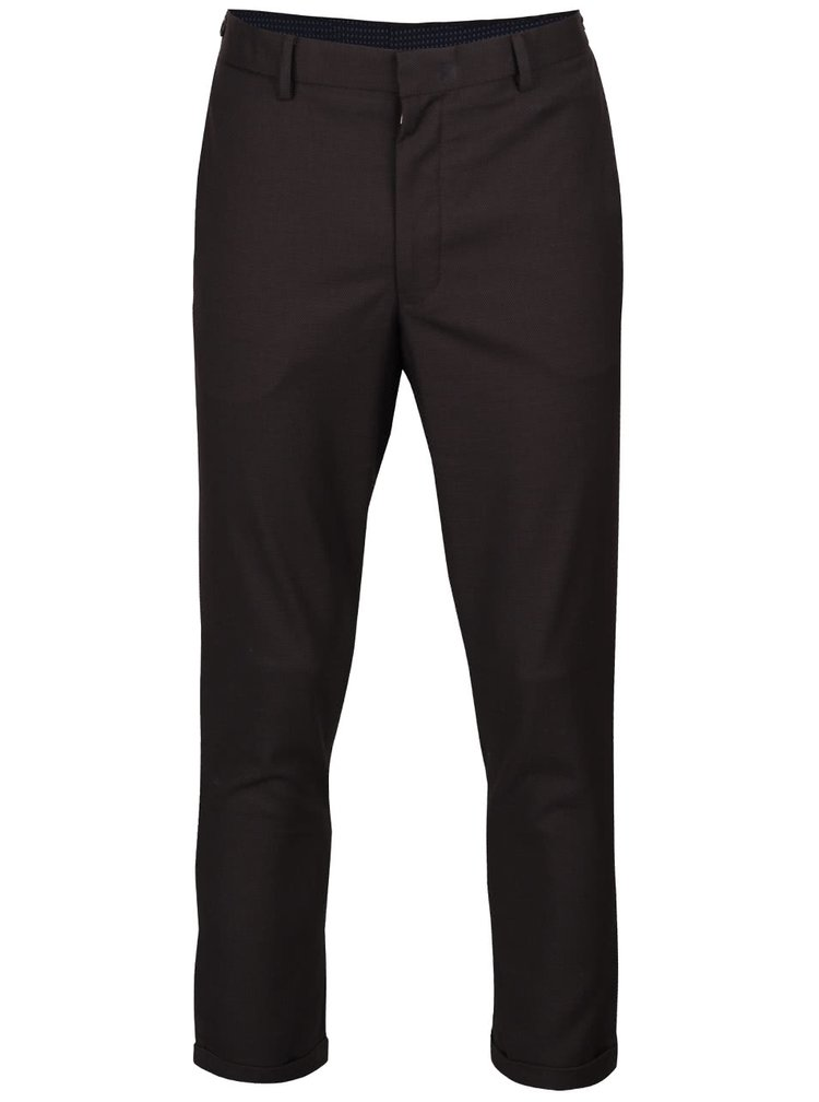Pantaloni gri inchis Burton Menswear London