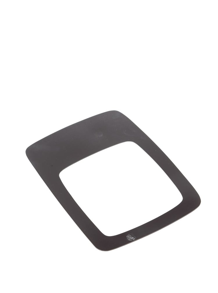 Šedý magnet na lednici ve tvaru rámečku Donkey Daily Tv Star