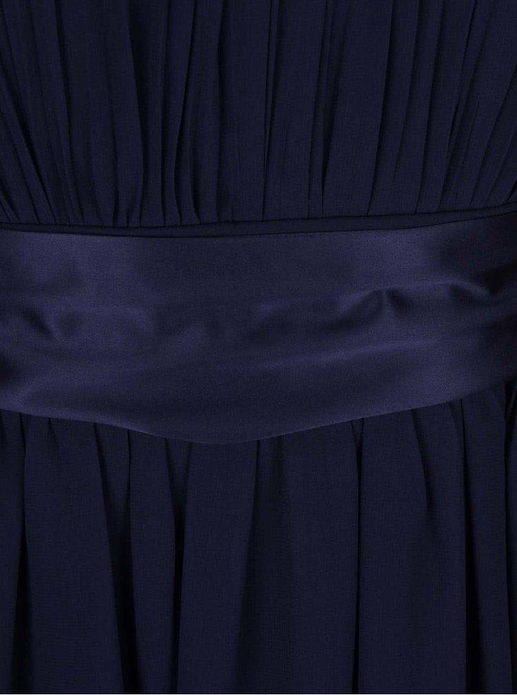Rochie maxi bleumarin Dorothy Perkins cu funda in talie