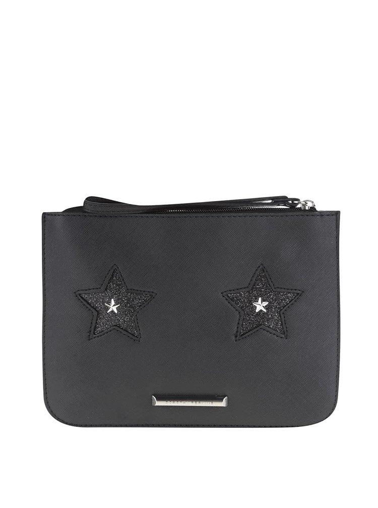 Čierna listová kabelka s hviezdami Dorothy Perkins