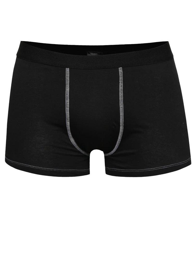Sada dvou boxerek v černé barvě Marginal