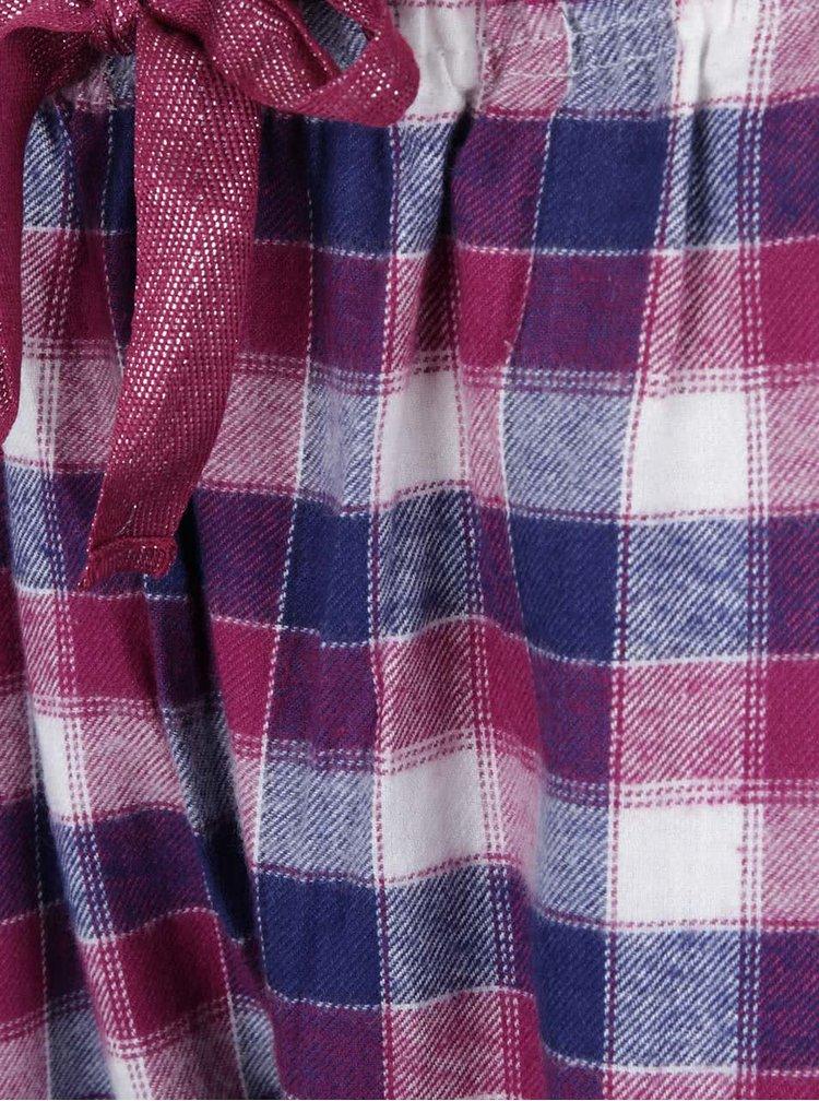 Modro-fialové pyžamové kalhoty Dorothy Perkins