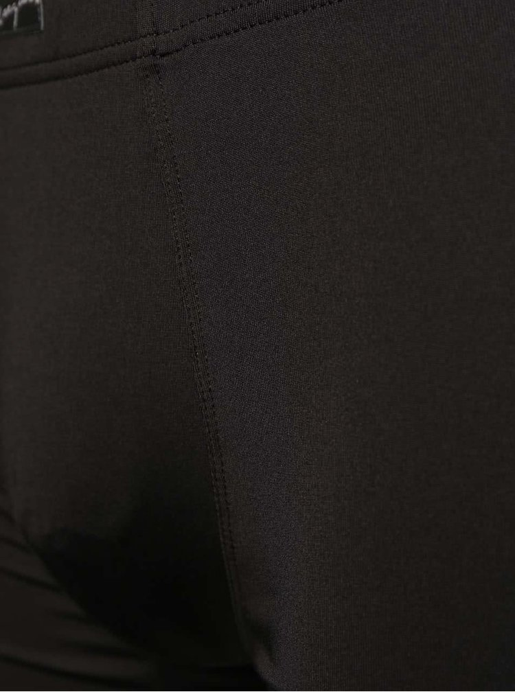 Súprava dvoch čiernych a tmavomodrých pruhovaných boxeriek Marginal