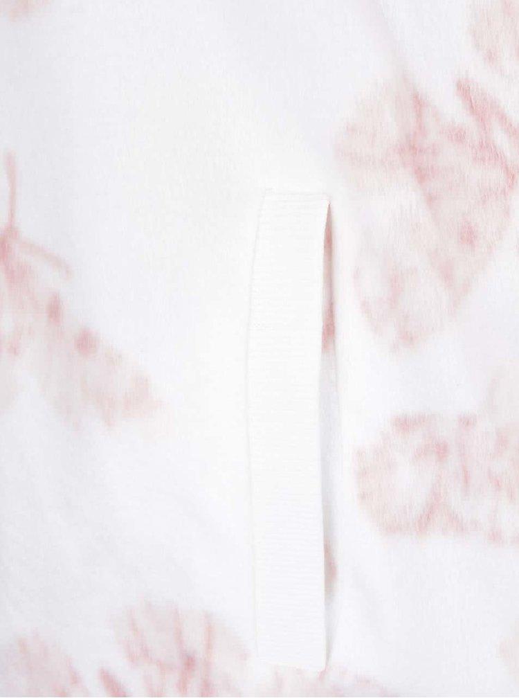 Krémové pyžamo s růžovými motýly Dorothy Perkins