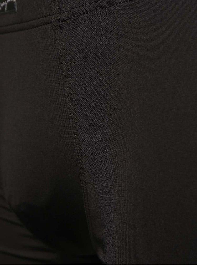 Set de 2 boxeri Marginal negri cu model