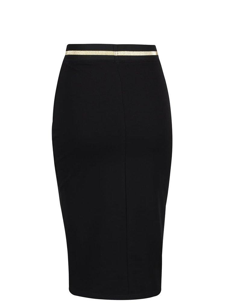 Čierna priliehavá sukňa ZOOT