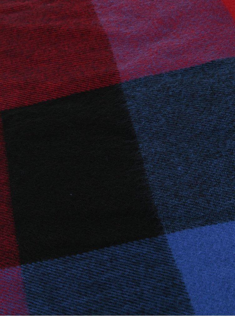 Eșarfă roșu cu albastru Dorothy Perkins
