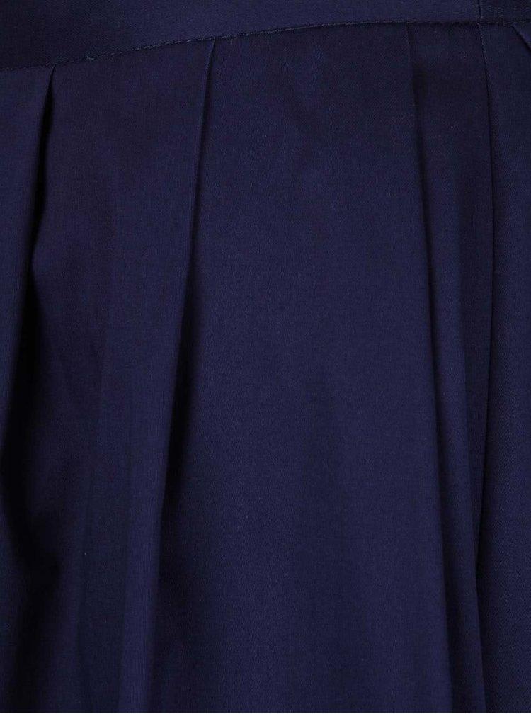 Tmavomodrá áčková sukňa Dorothy Perkins