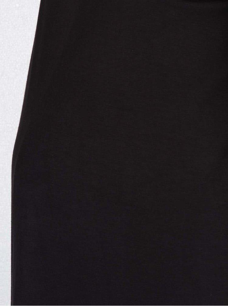 Černé těhotenské volné šaty Dorothy Perkins Maternity