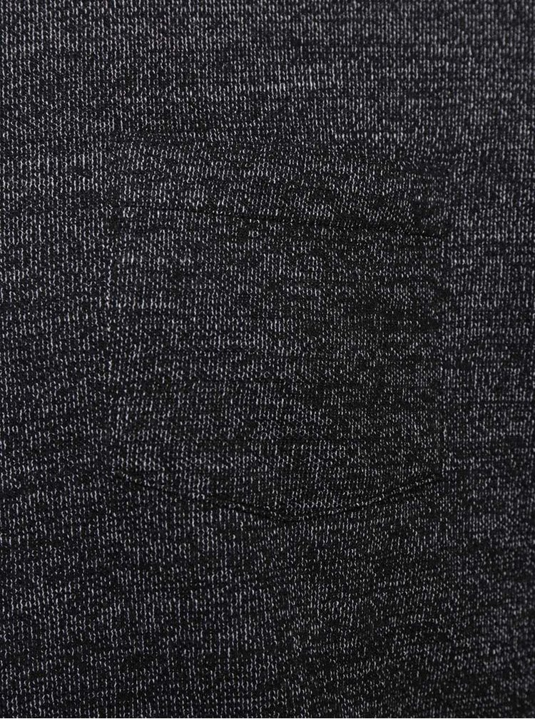 Pulover negru Jack & Jones Ozil cu model discret