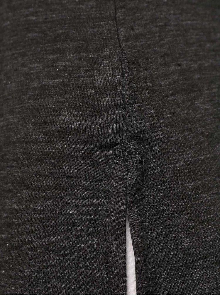 Tmavosivé tričko s vreckom TALLY WEiJL