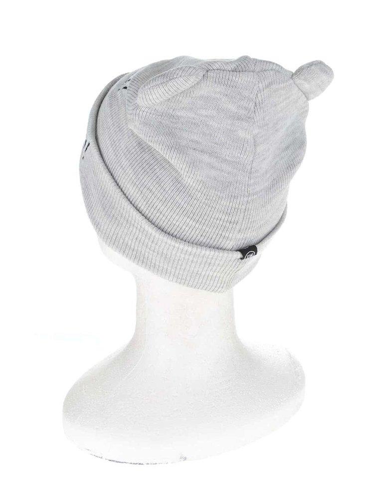 Sivá čapica s ušami a výšivkami TALLY WEiJL