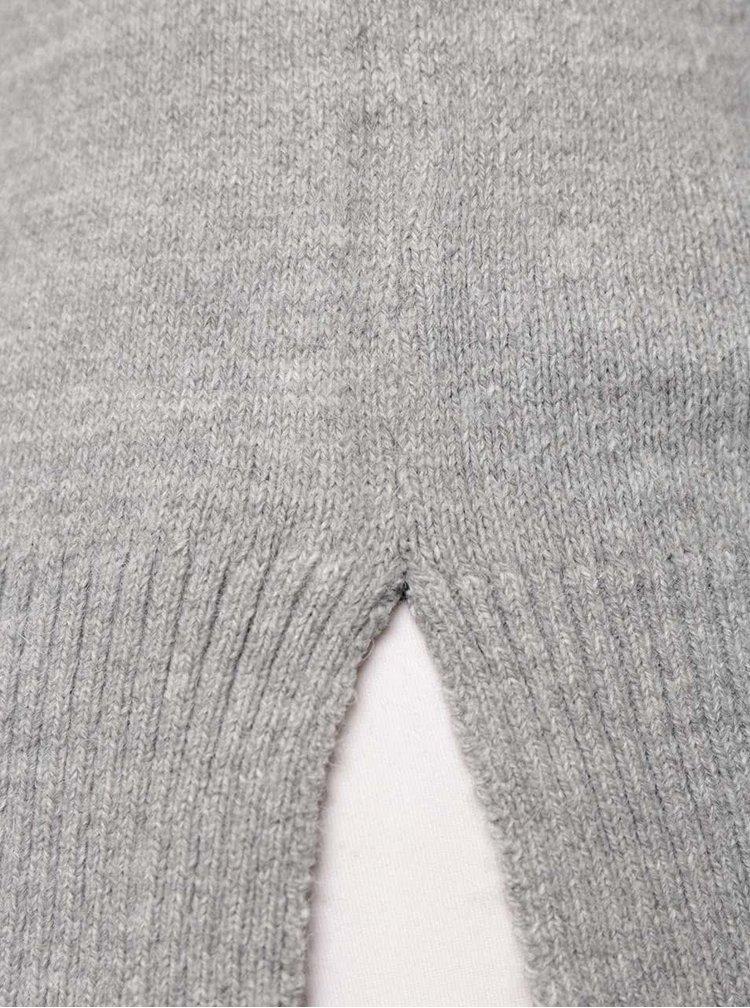 Sivý dámsky ľahký sveter TALLY WEiJL
