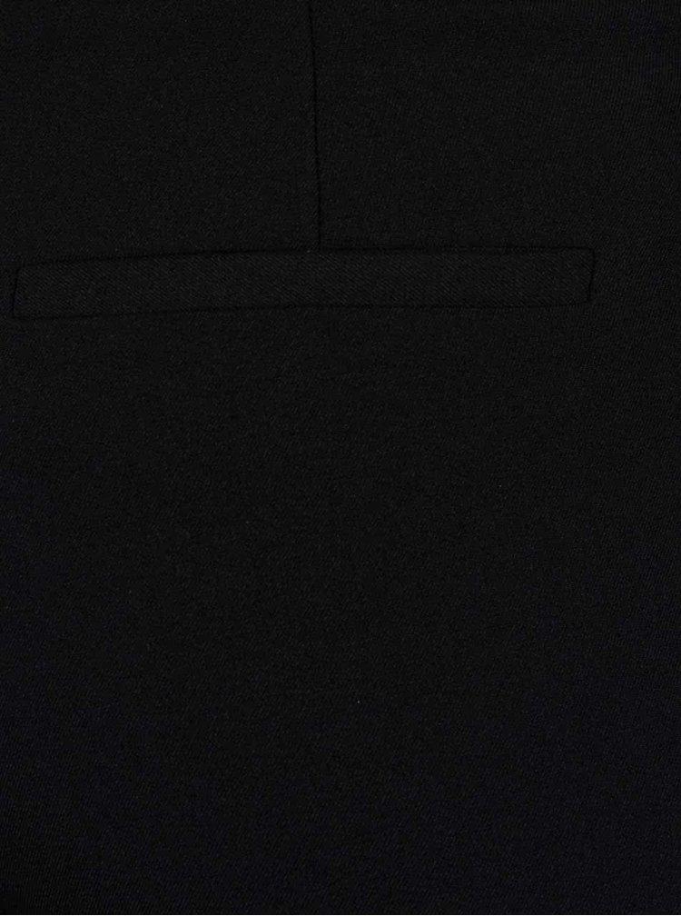 Černé společenské kalhoty s puky TALLY WEiJL