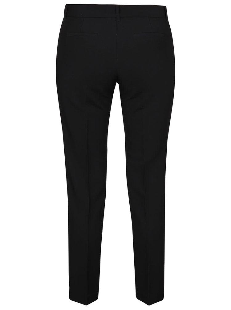 Čierne spoločenské nohavice s pukmi TALLY WEiJL