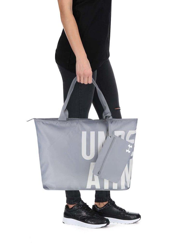 Sivá dámska športová taška Under Armour Big World