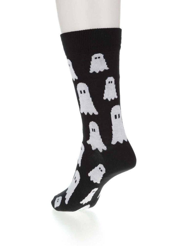 Černé unisex ponožky s bubáky ZOOT Originál