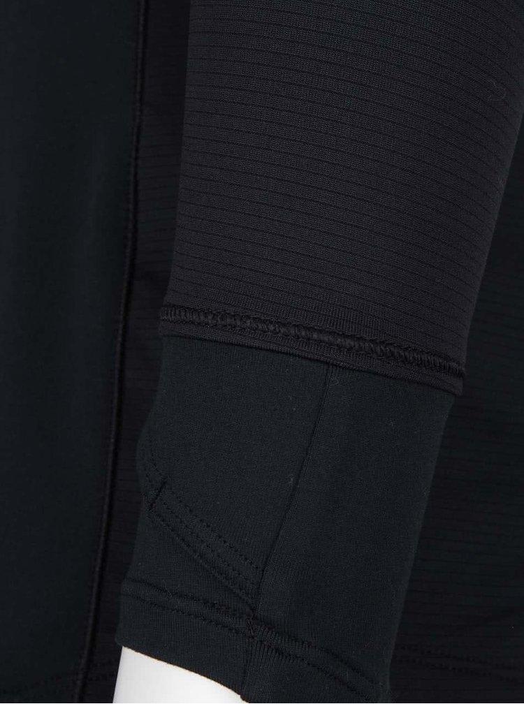 Bluză cu fermoar Under Armour Layered Up 1/2 Zip neagră
