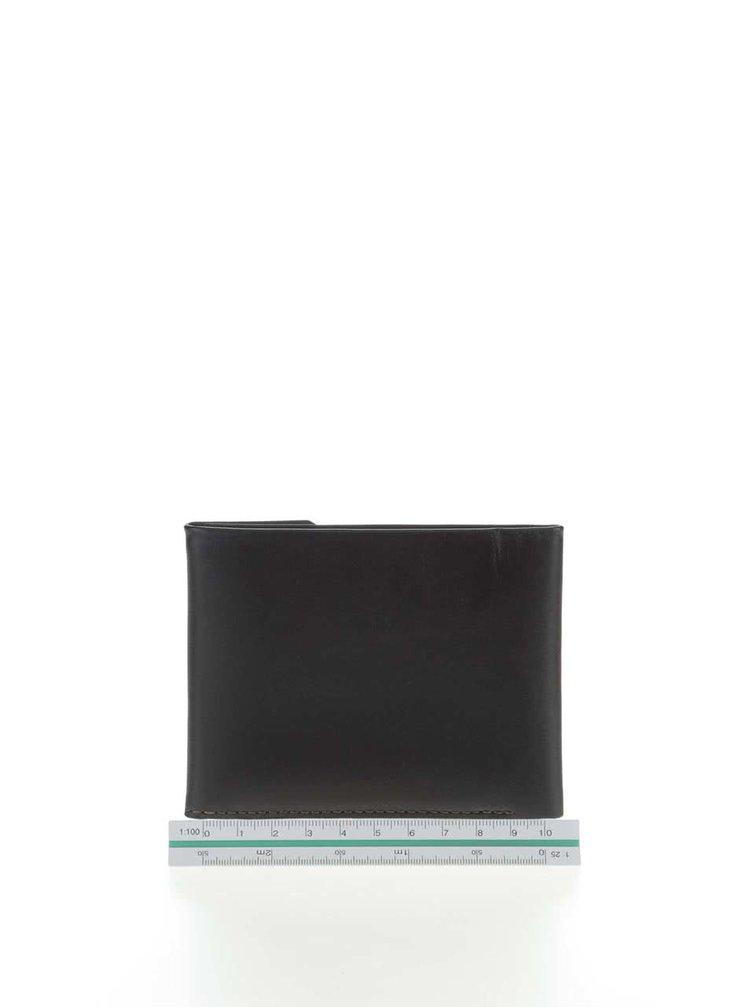 Černá kožená peněženka na mince Bellroy Coin Fold