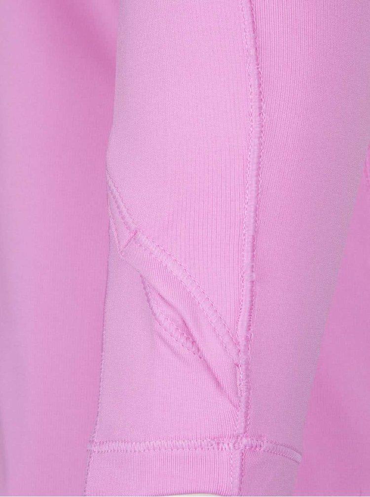 Růžové dámské funkční tričko s dlouhým rukávem Under Armour ColdGear Armour Crew
