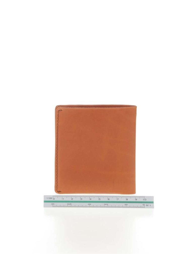 Oranžová kožená peněženka Bellroy Note Sleeve