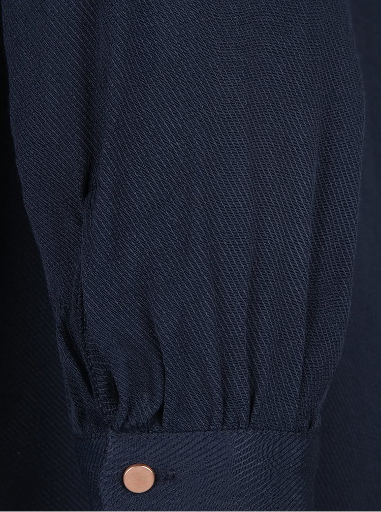 Camasa VILA Filter albastru inchis