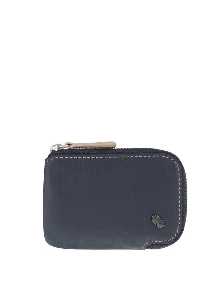 Tmavě modré kožené pouzdro na karty Bellroy Card Pocket