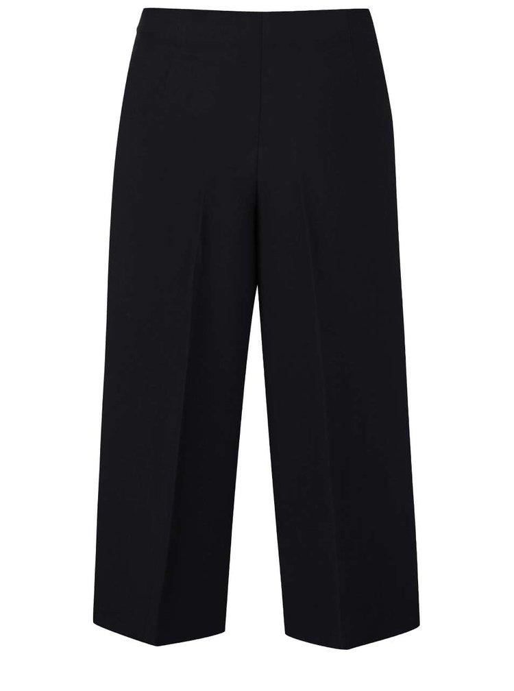 Pantaloni culottes VILA Ashlyn negri