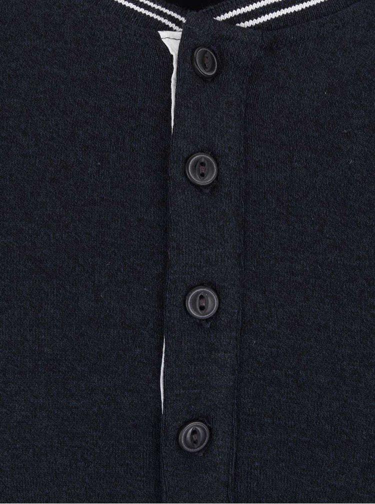 Bluză albastră Lindbergh din bumbac