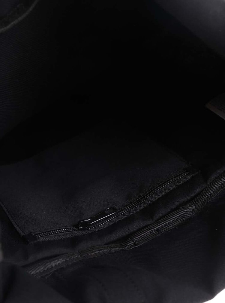 Čierny unisex batoh so sponou Bench Makehappen