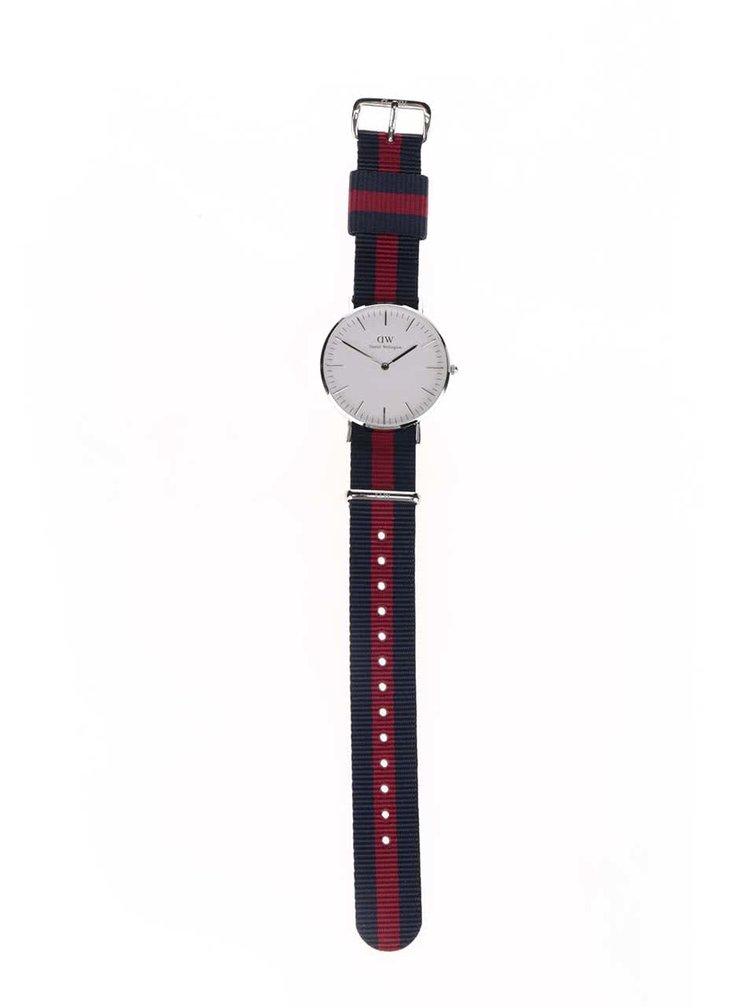 Dámské hodinky ve stříbrné barvě CLASSIC Oxford Daniel Wellington