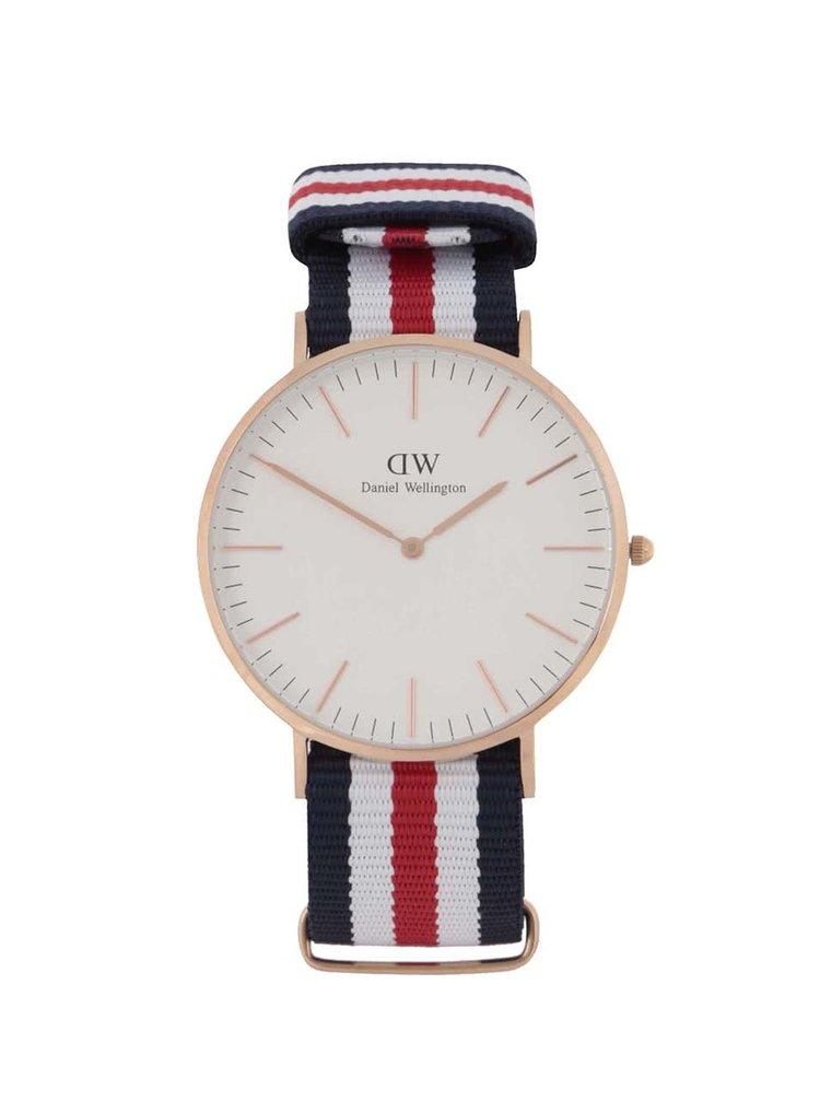 Pánské hodinky ve zlaté barvě CLASSIC Cantebury Daniel Wellington