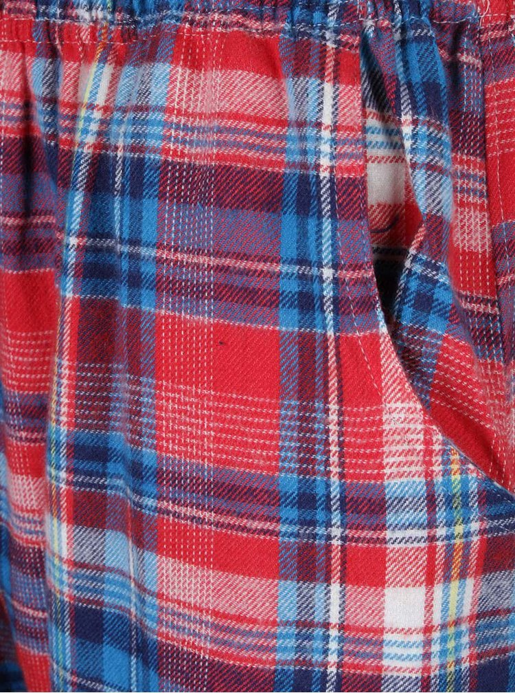Červeno-modré pyžamo s potlačou Dorothy Perkins