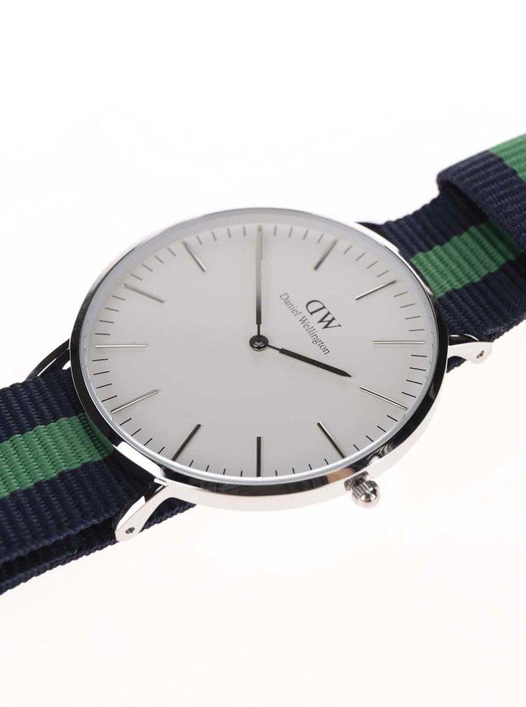 Ceas albastru & verde Daniel Wellington CLASSIC Warwick pentru barbati