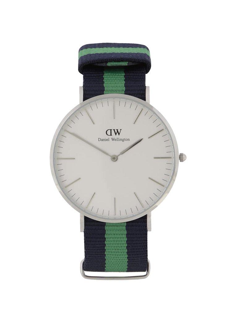 Pánské hodinky ve stříbrné barvě CLASSIC Warwick Daniel Wellington