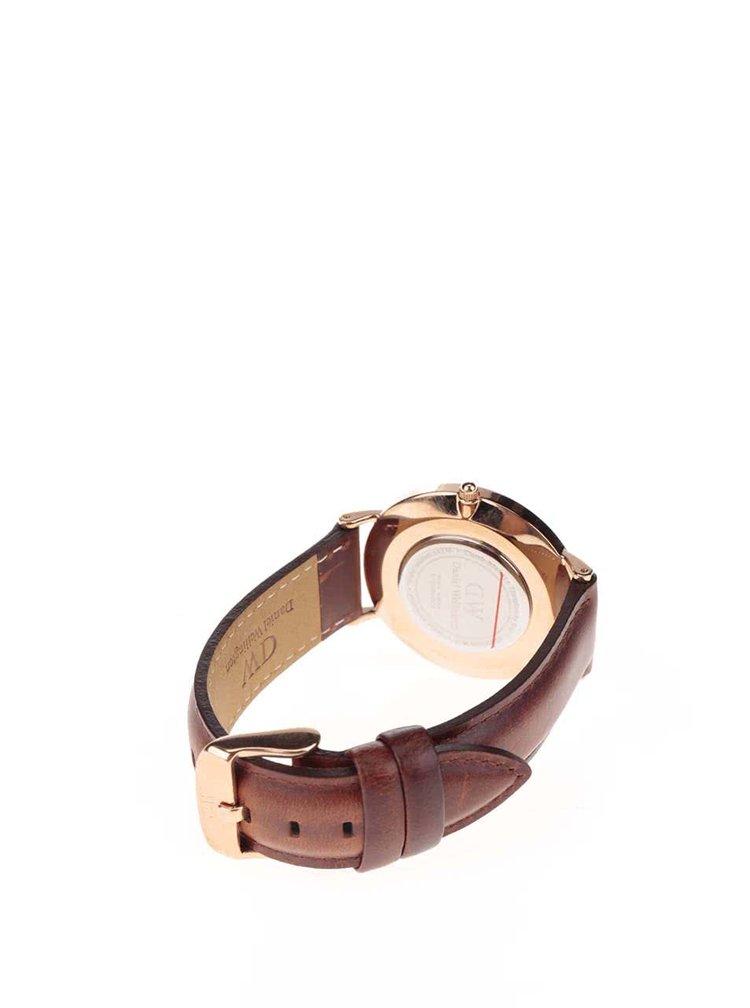 Dámské hodinky ve zlaté barvě CLASSIC St. Mawes Daniel Wellington