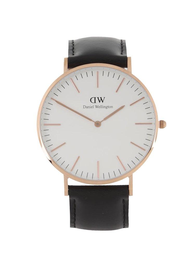 Pánské hodinky ve zlaté barvě s  CLASSIC Sheffield Daniel Wellington