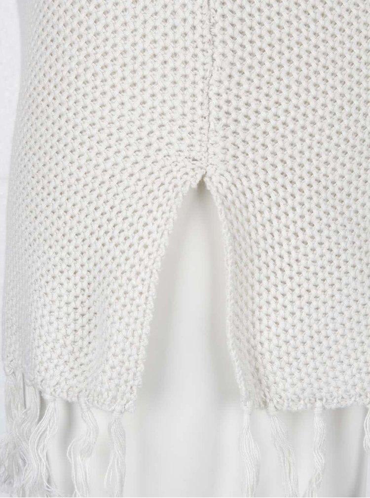 Krémový svetr s krátkými rukávy Dorothy Perkins