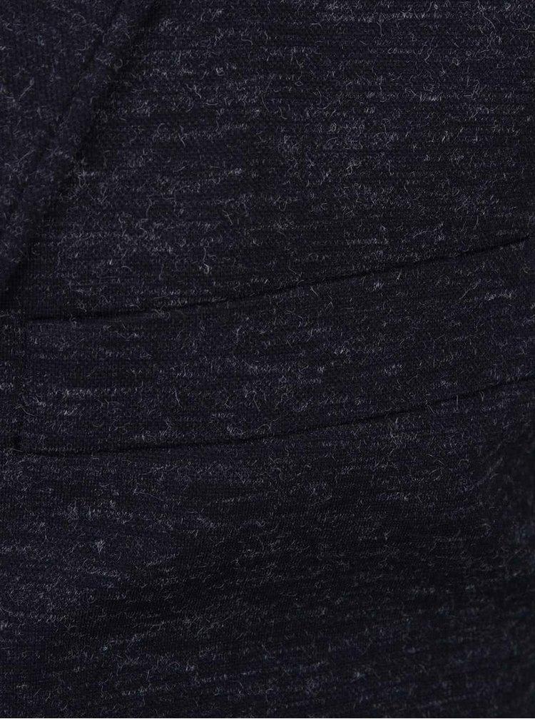 Modré žíhané sako Lindbergh