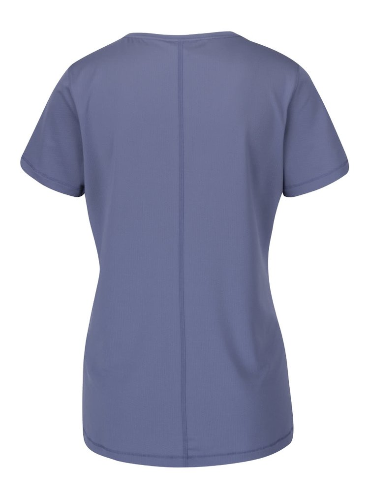 Fialové dámské funkční tričko s krátkým rukávem Under Armour HG Armour SS