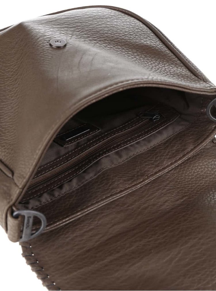 Zelenohnědá menší crossbody kabelka Bench Masterpiece